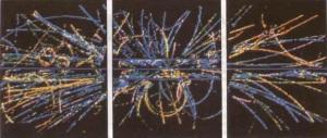 Bir yıldızın patlaması sonucu çok büyük miktarlarda nötrino ve anti-nötrinolar yayılır.