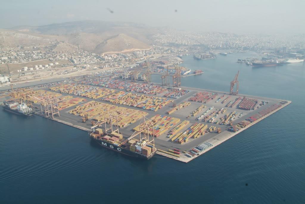 Торговый порт пирей